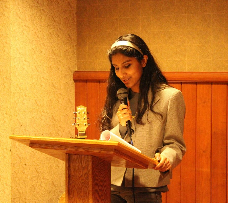 Annual Poetry Reading Reveals Raw Talent