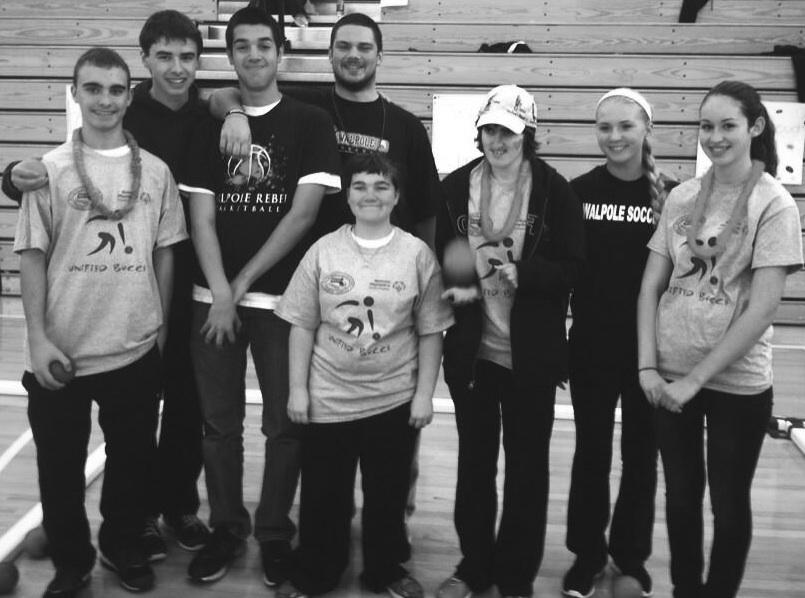 WHS students participated in the bocce tournament.
