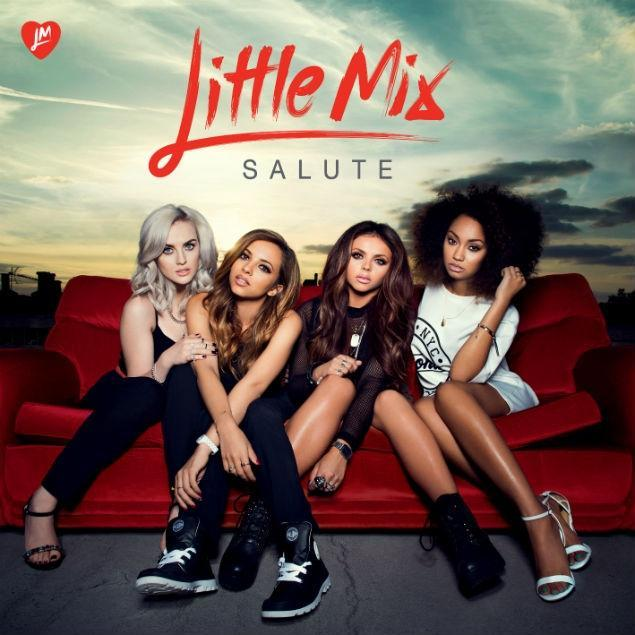 Artwork for Little Mix's sophomore release