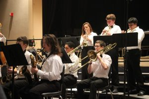 Students perform at the Winter Concert.