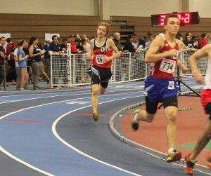 Walpole runner falls behind to Natick