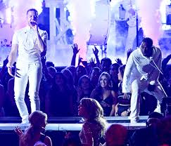 Imagine Dragons and Kendrick Lamar's Grammy performance received a lot of attention on social media.
