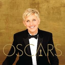 Ellen Degeneres hosted the 2014 Oscars.