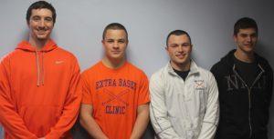 Senior Captains Nick Cordopatri, Bob Ivatts, Connor Moriarty, and James Smith. (Photo/ Ian Fair)