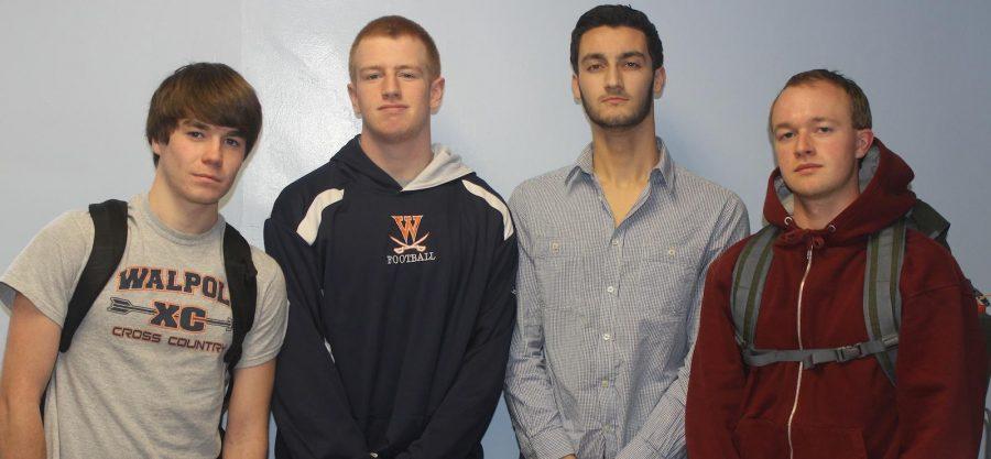 Boys Track Senior Captains (Photo/ Ben Lucas)