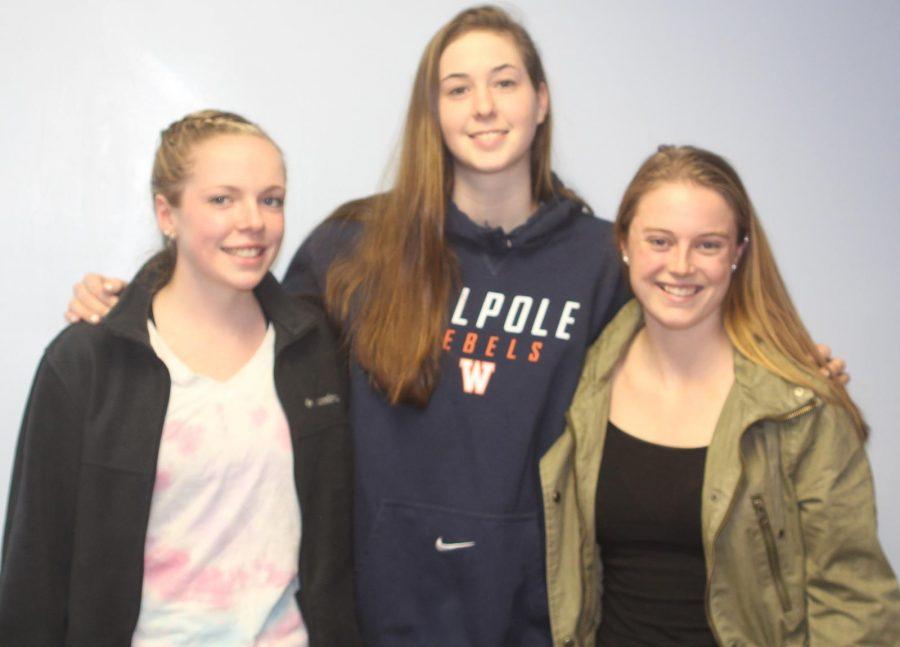 Girls Lacrosse Senior Captains. (Photo/ Kaitlin Brown)