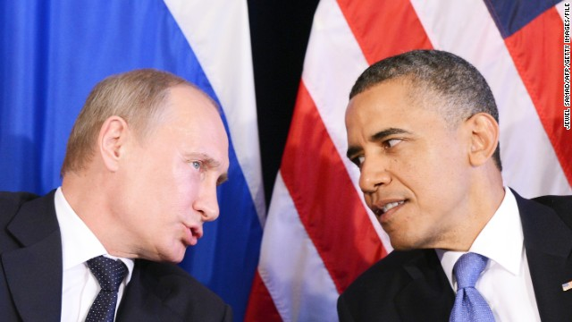 Since becoming president, President Obama has had icy relations with Russian President Vladimir Putin.