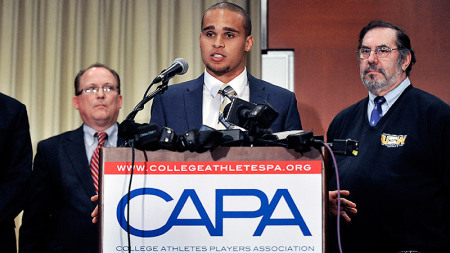 Kain Colter argues in favor of unionizing college sports