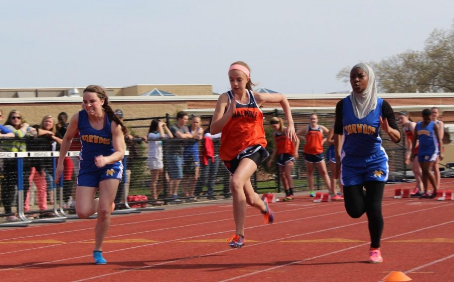 Walpole Girls Track Ends Dual Meet Season with 6-1 Record