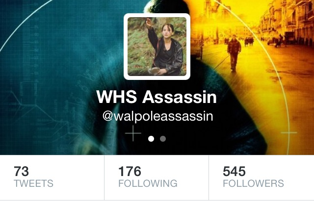 The Senior Assassins Twitter account has become a prominent aspect of the game.