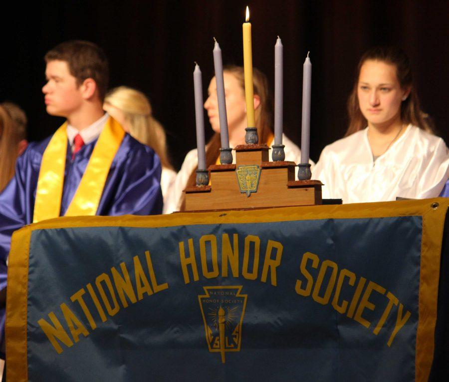 National Honors Society Induction, May 14, 2014
