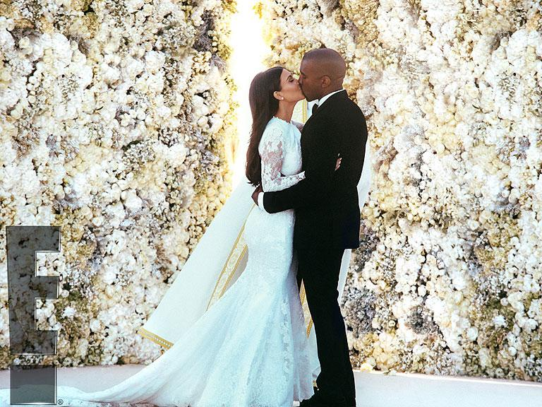 Kim and Kanye West Tie the Knot in Florence