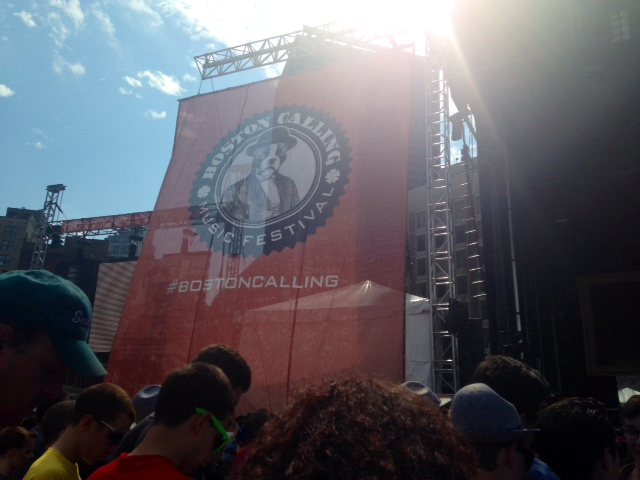 The+Boston+Calling+Festival+endured+despite+high+temperatures+and+dangerous+storms+during+the+Saturday+show.