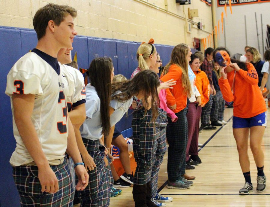 Walpole High School Student Council Holds Annual Pep Rally