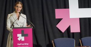 Actress Emma Watson speak to the United Nations.