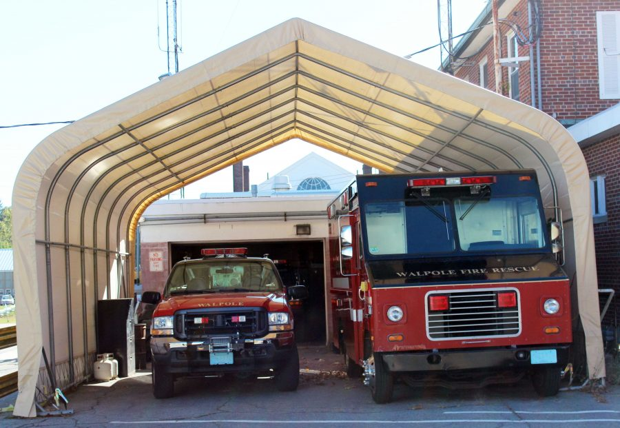Take a Tour of the Current Stone Street Firehouse before the November 4 Vote