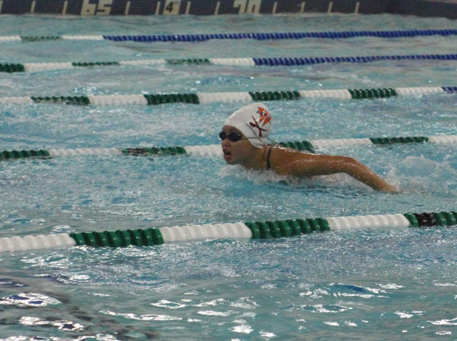 Katie Smith Leads Walpole Swimming and Diving in Victory over Marshfield