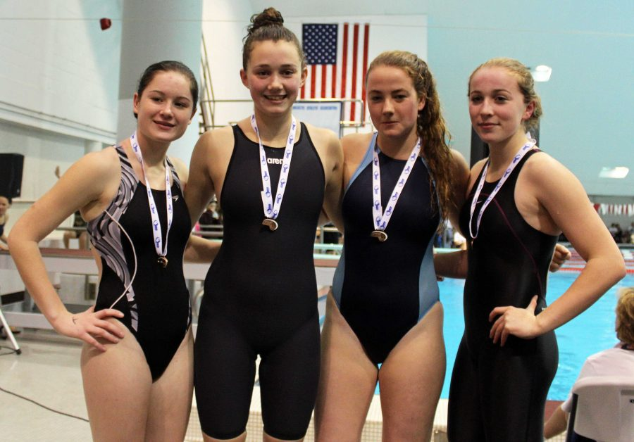 Katie Smith Becomes State Champion in Two Swimming Events