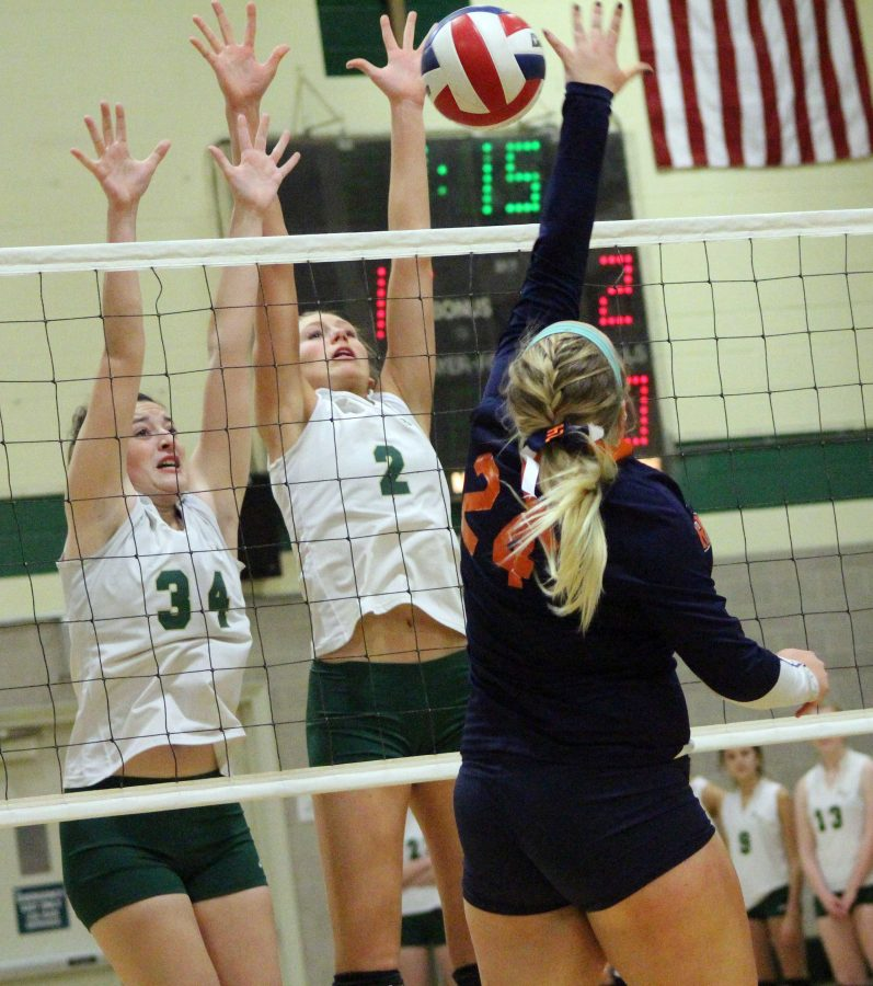#8 Walpole Volleyball Beats #9 Mansfield, Loses Five-Set Match to #1 Bishop Feehan