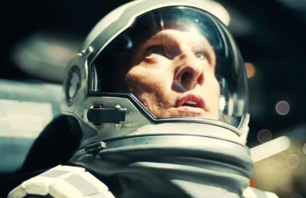 Matthew McConaughey stars in Christopher Nolan's  ambitious Interstellar.