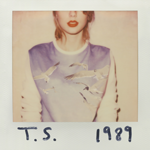 Taylor Swift's fifth album 1989 topped charts in 2014.