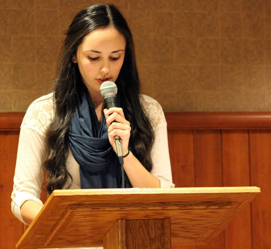 Walpole Students Express their Creativity at the Annual Fall Poetry Reading