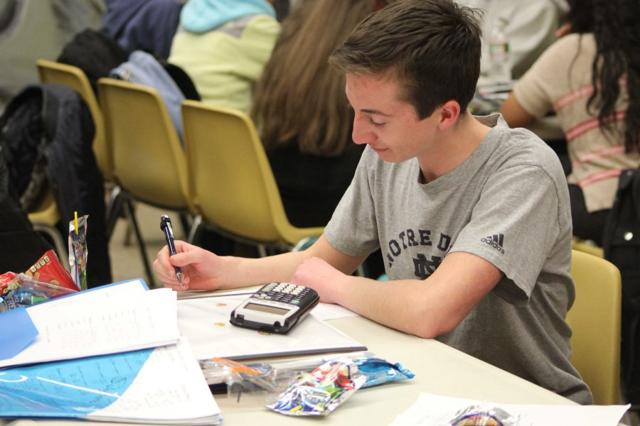 Finishing the competition as Walpole's second highest scorer, this junior competes at the Math Meet on February 5.