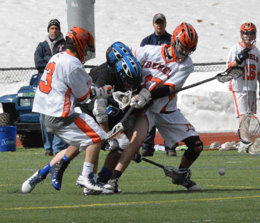 Walpole Boys Lacrosse (1-1) Beats Scituate 9-6