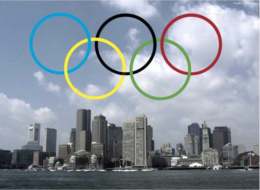 Boston Olympics 2024? (Graphic / Ellie Hilty)