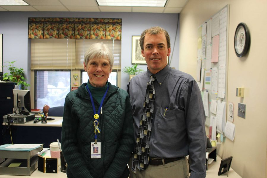 Mrs. Gail Cunnane has worked at WHS for 27 years.