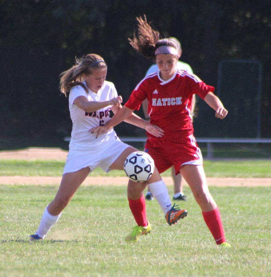 Girls Soccer Opens Season against Natick