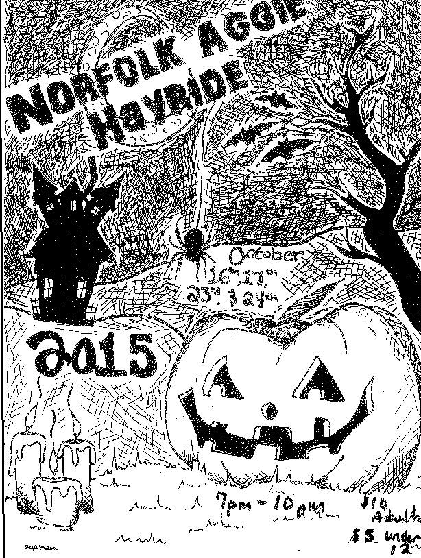 Norfolk County Agricultural High School Gears Up for Annual Haunted Hayride