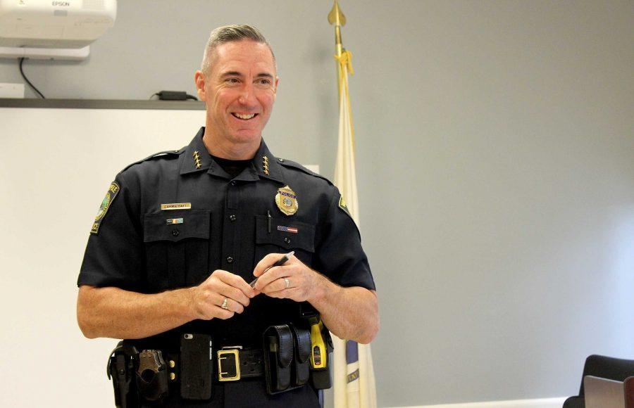 Police Chief John Carmichael Aims to Improve Walpole Community