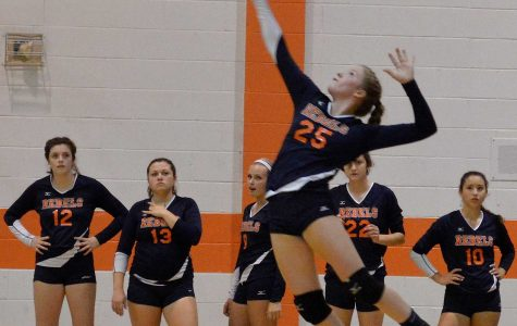 Freshman Abby Rae Impresses on Varsity Volleyball