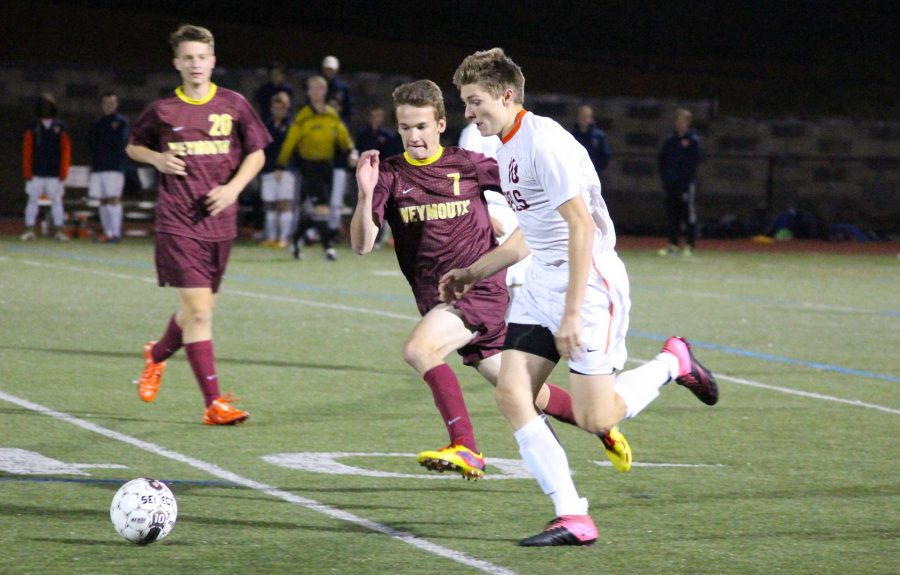 Gallery: Boys Soccer Defeats Weymouth 2-1