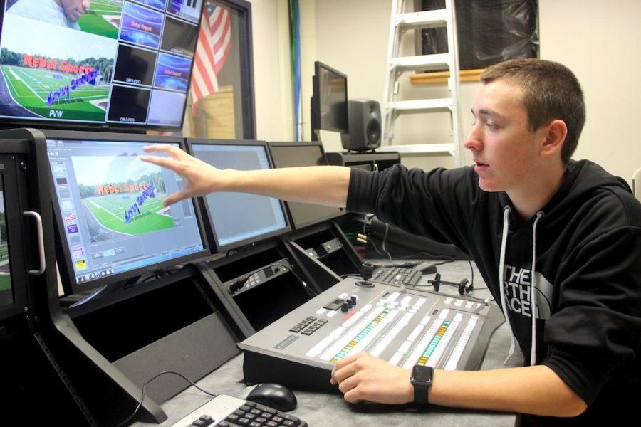 Walpole High School TV Studio Undergoes Transformation
