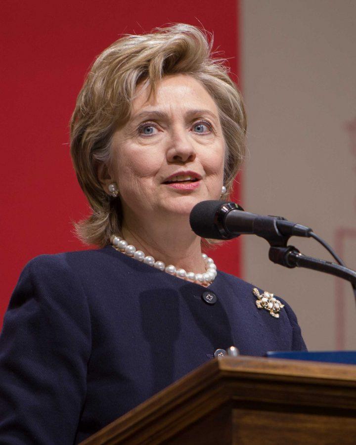 Hillary Rodham Clinton, Senator from New York,  in 2006.