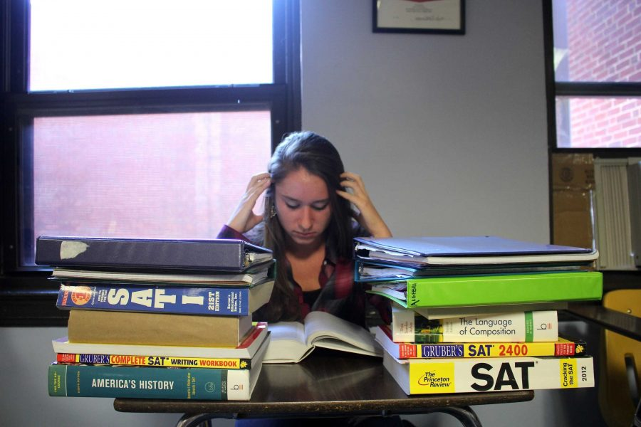 The pressure to do well in class leaves students sleep deprived and overly stressed.
