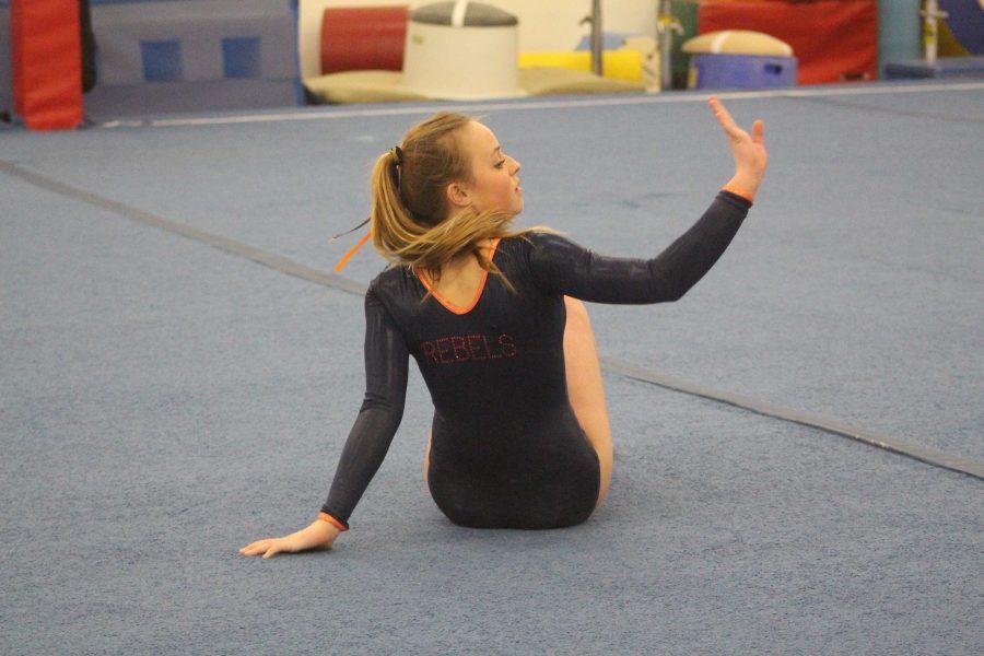 Gallery: Gymnastics Loses First Meet 124-113 against Framingham