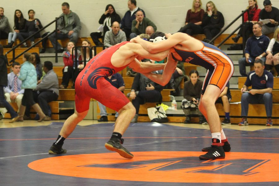 Gallery: Wrestling Loses to Natick at First Home Match