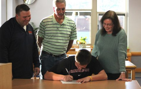 Caskie Signs NLI to Play Lacrosse at Franklin Pierce University