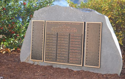 Veteran Memorial Plaque Holds a Meaningful Message for WHS Students
