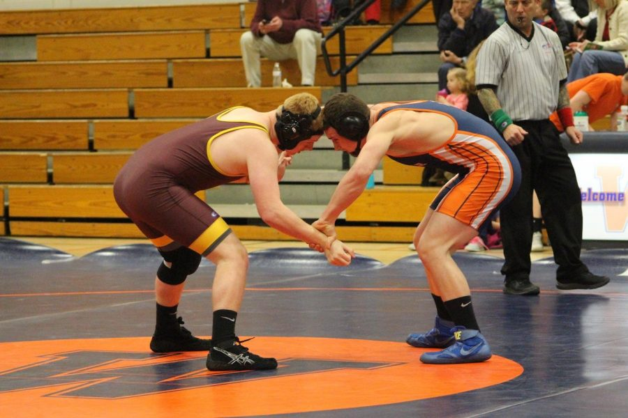 Gallery: Wrestling Falls to Weymouth in Final Match