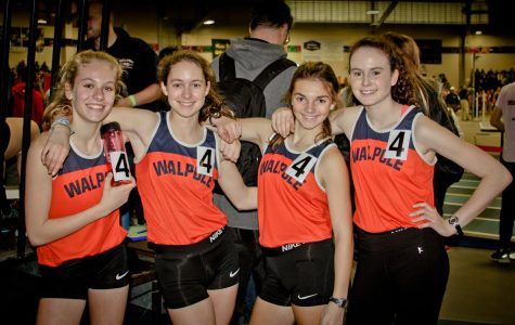 Girls 4x800 Meter Relay Team Qualifies for Nationals and Sets New School Record