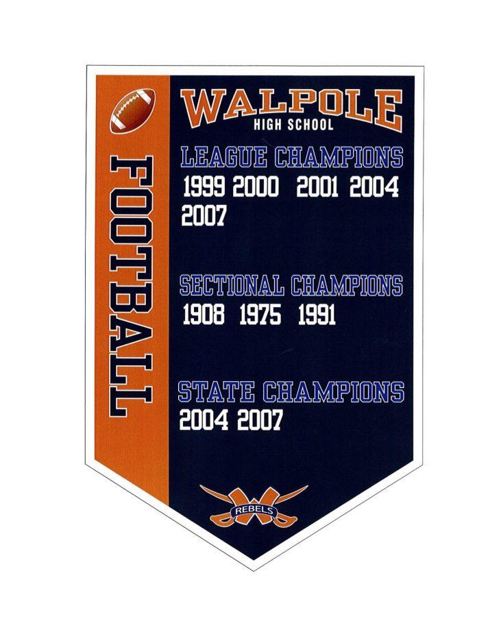 Walpole Gymnasium to Receive New Championship Banner Designs