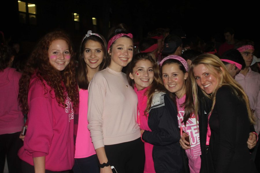 Walpole High School Student Council Hosts First Pink Walk