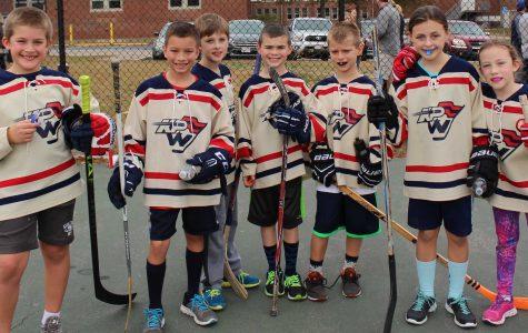 Boys Hockey Team Hosts Youth Street Hockey Fundraiser
