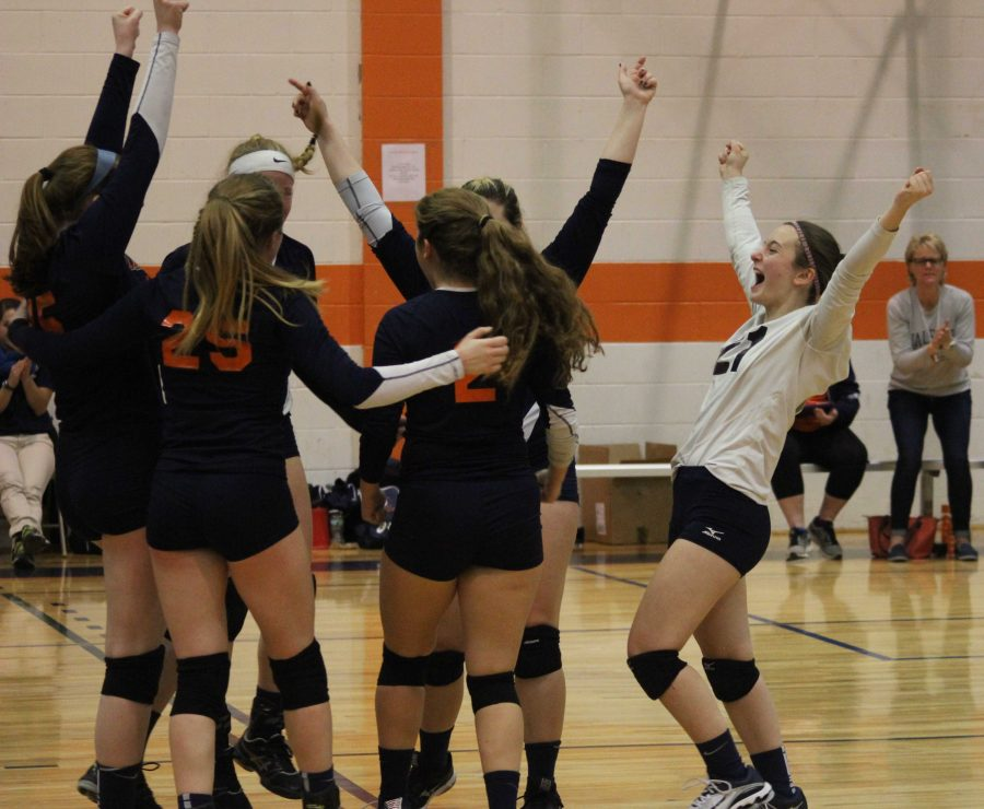 Gallery: Volleyball Heads to South-Sectional Finals