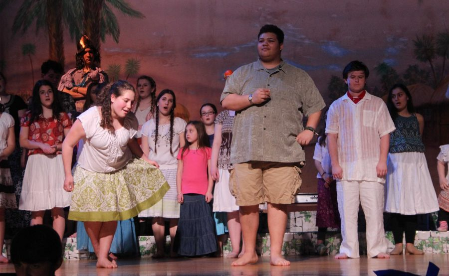 Drama Club Prepares For Their Annual Winter Musical, Once On this Island