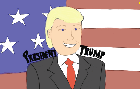 Donald J. Trump Wins 2016 Election